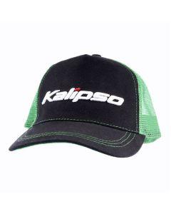 Кепка Kalipso зеленая с сеткой